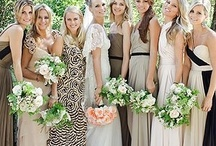 mismatching bridesmaids / by BRENDA MORALES