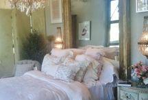 romantische slaapkamers / slaapkamers en romantisch beddengoed