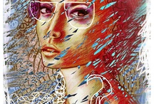 My Design/Painting / graphic design, painting, drawing