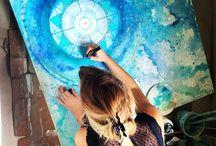 Festékfolyatás