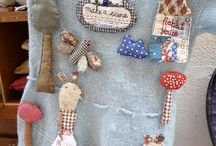 Fabric and recycle jewellery