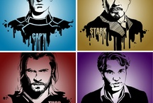 The Avengers! / by Molton Benavente