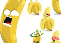 Banana motion graphic