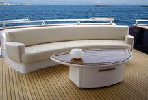 Barcos / Interiorismo de barcos de lujo.