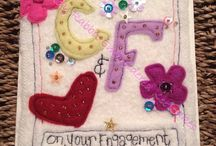The Cloudy Rabbit Embroidered Keepsakes @ Something a little bit different. / Handmade keepsakes for you & your loved ones!