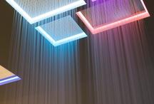 Sistemi doccia / Soluzioni di soffione a parete. soffitto, soluzioni oer la doccia...