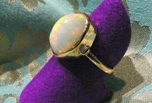 Our Opal jewel ring pendant earrings / Australian and Etiopia Opals