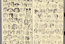 Faces - head library styles