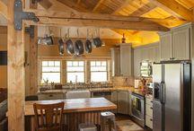 Pole Barn Home Interior
