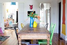 True colours of dining room / Dining room interiors inspirations