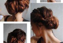 hairstyles / by Kim Houser Seyfert