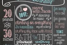 1st Birthday Ideas for my little angel face / by Amazing Bride