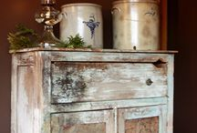 Crocks / Jugs / Butter Churns / by Country Mini