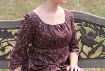 Regency era - Jane Austen outfit