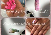 Kynsikoristeluja / nail art
