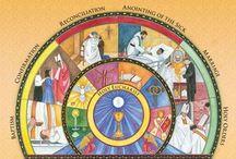 Catholic RE-Sacraments & the Church / by Marybeth Elizabeth