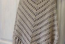 ponchos crochet