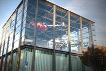 HIRO LIFT - im Einsatz / Aufzüge von HIRO LIFT sorgen in vielen öffentlichen Gebäuden für einen barrierefreien Zugang. Hier einige Beispiele
