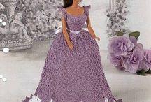 Barbie lavender dress