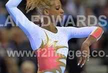 Gymnasts in Milano / Gymnastics, cheer, sport, leotards