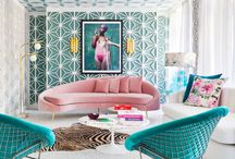Mid Century Modern / Noir Blanc Interior Vibes On The Design Of Mid Century Modern