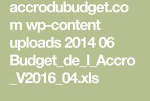 Budget / Finances personnel less