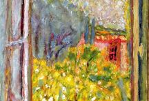 Pierre Bonnard / Pierre Bonnard - and similar styles. I love the loose paint work.