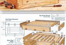 Toolbox, tool cabinet
