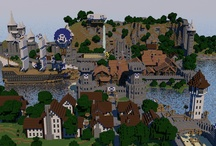 Minecraft Real / Made in Cinema 4D