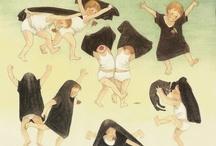 il bambino & i gesti / azioni e gesti nell'illustrazione dell'infanzia