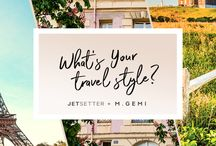 Summer Travel Style / Jetsetter and M.Gemi have teamed up to bring you this season's hottest destinations—and the perfect pair of shoes to take you there. Find out which spot fits your personal travel style!