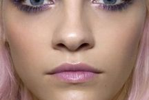 Pastel Make Up / Pastel beauty looks: I love this soft pastel make up look. Inspiration for pretty pastel make up.