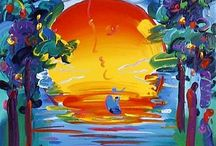 Peter Max / Posters and paintings by Peter Max