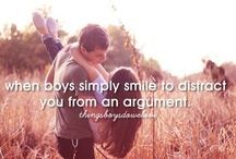 ♥Things boys do we love♥