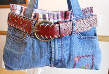 Old Jeans creativi