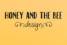 Honey And The Bee Design / Cute baby clothing made with love by honey and the bee