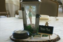 Disney theme Wedding centrepieces