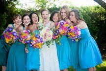 Bridesmaid Bouquets / Ideas for different bridesmaid bouquets