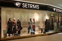 SETRMS Mağazaları / Eşarp, Pardösü, Abiye, Ferace, Elbise, Tunik, Ceket, Bluz