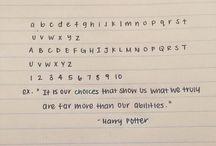 hand writting