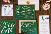 Emerald / Emerald wedding inspiration