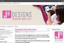 J9 Designs & Blogging Help/Tips / | Blogging | Writing | Wordpress | Photography | Images | Plugins | Theme Help | Design | Graphic Design | Blog Transfers | Blogger to Wordpress |
