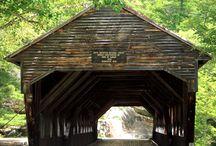 COVERED BRIDGES КРЫТЫЕ МОСТЫ / Здесь живут крытые мосты