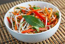 Food: Salads / by Sara LaMothe