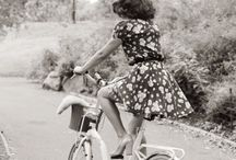 Biking In Style / dress up or down the art of riding a bike in style