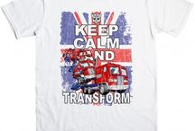 Official Transformers t shirts / A new range of officially licensed t shirts based on the hit TV and film series Transformers http://www.8ball.co.uk/tag/transformers
