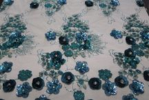Embroidery beaded