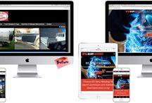WordPress websites designed by GGA Graphic Design and Marketing
