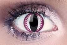 Dragon Eyes. Crazy Costume Contact Lenses. / Crazy Dragon Style Contact Lenses for crazy costumes and special effects.
