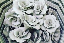 Ceramic flowers / Ceramic flowers